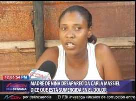 Madre de la niña Carla Masiel.