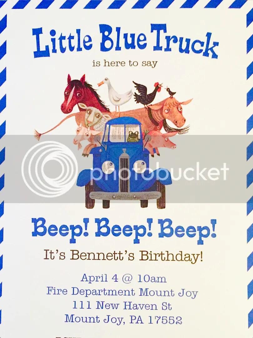 Little Blue Truck, A Happy 2nd Birthday, Beep Beep Beep
