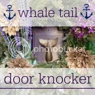 Whale Tail Door Knocker | The Salt Water Blog