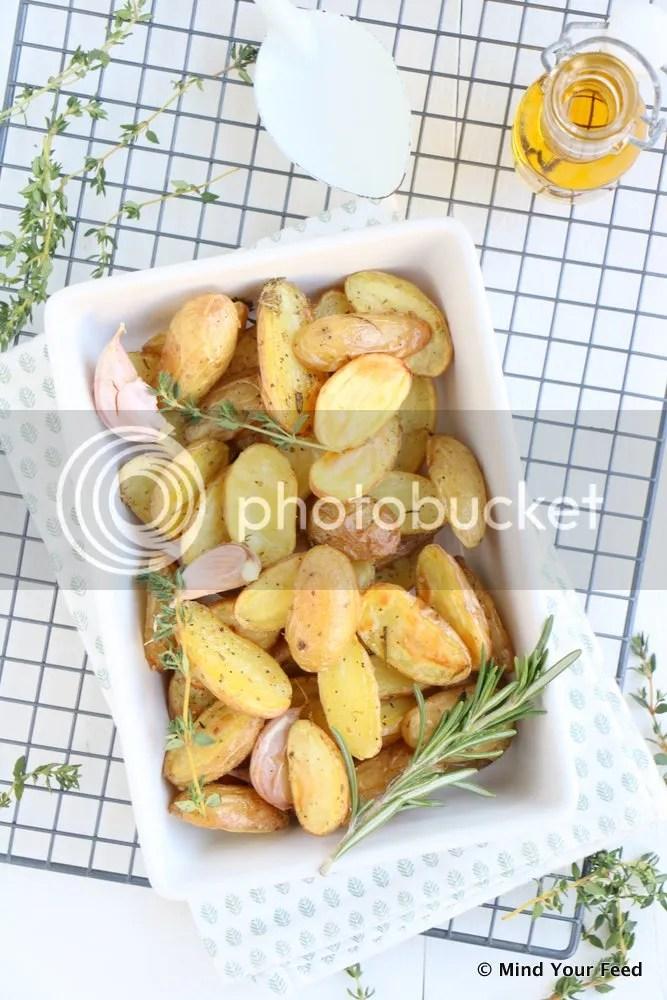 Italiaanse geroosterde aardappels