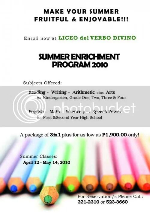 Summer enrichment program at LVD