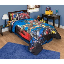Creative Sale Twin Bed Set Transformers Battle Royale Twin Full Reversible Comforter Blue Transformer Twin Bed Sheets Twin Bed Set Toddler Girl