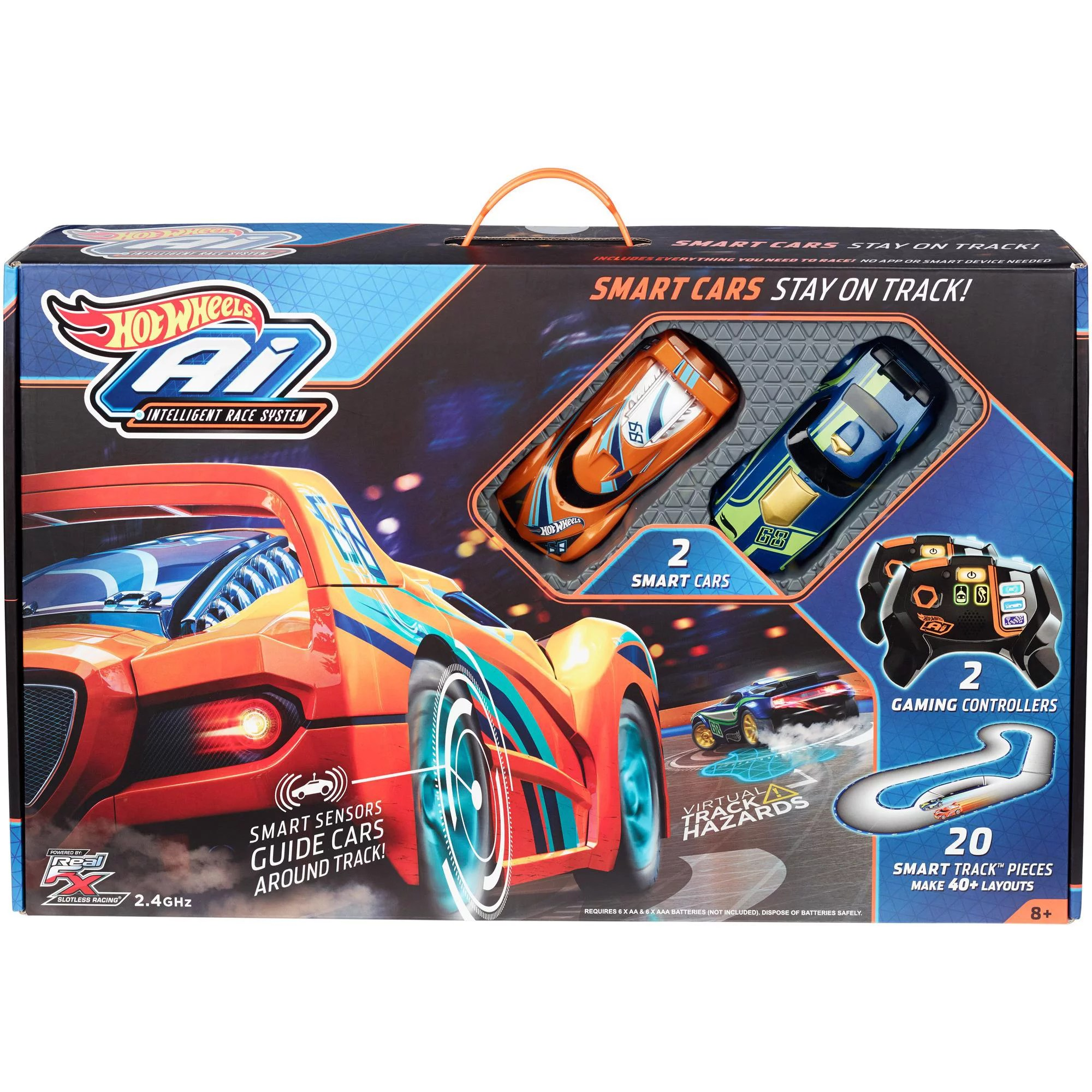 Hot Wheels A I  Intelligent Race System Starter Kit   Walmart com
