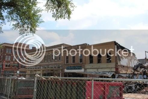Fire Damaged Buildings