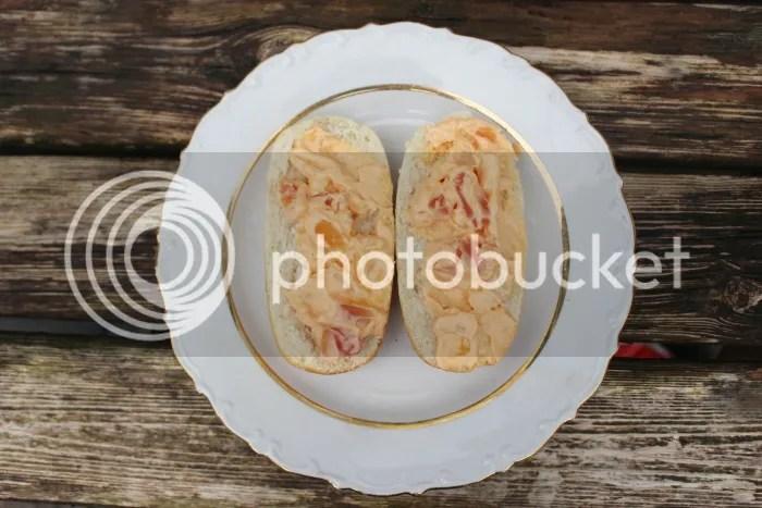 Brood met salade