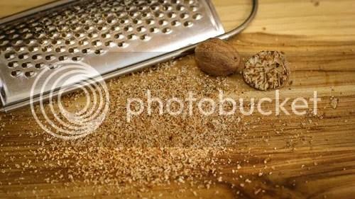 fresh ground nutmeg