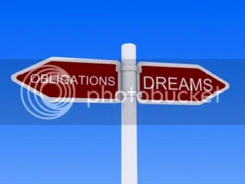 antara tanggung jawab dan impian
