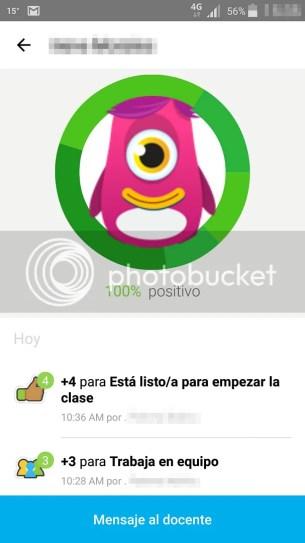 class dojo - puntuacion estudiante