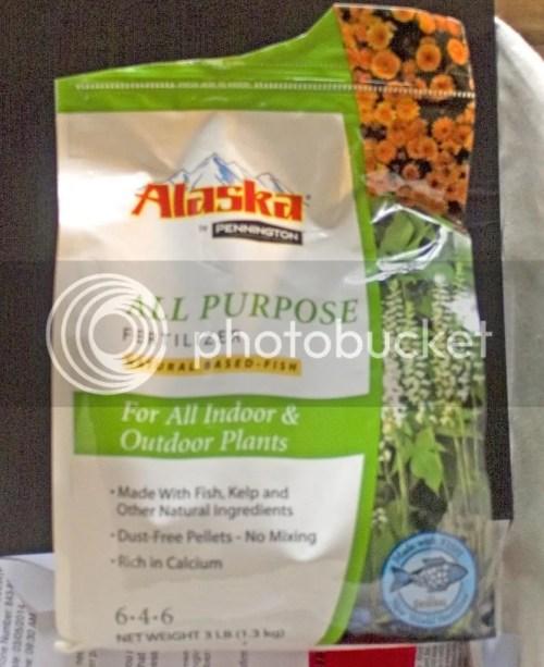 Medium Of Alaska Fish Fertilizer
