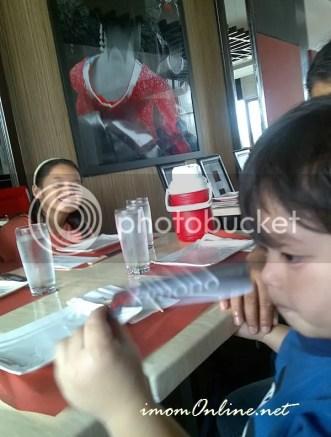 the kids at red kimono restaurant