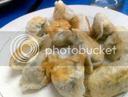 fried kuchay dumplings lan zhou hand pulled noodles