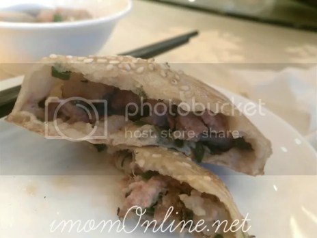 shao bing with pork filling
