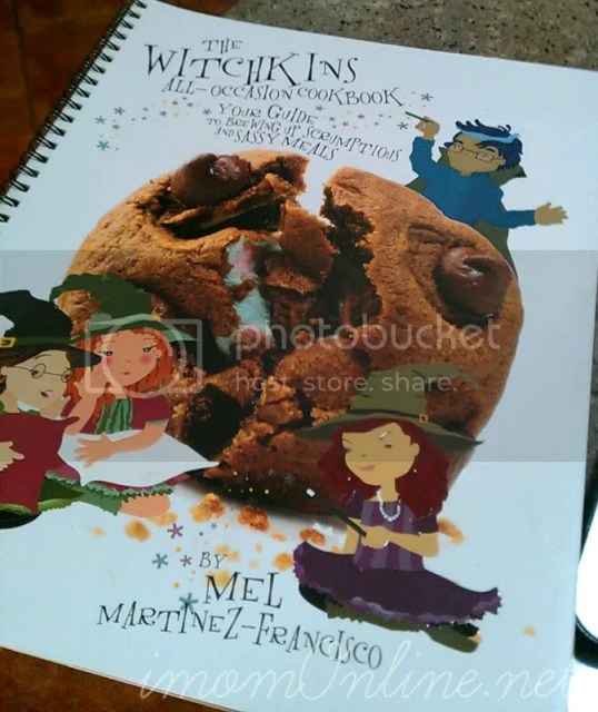 Christmas cookie recipe The Witchkins kids cookbook