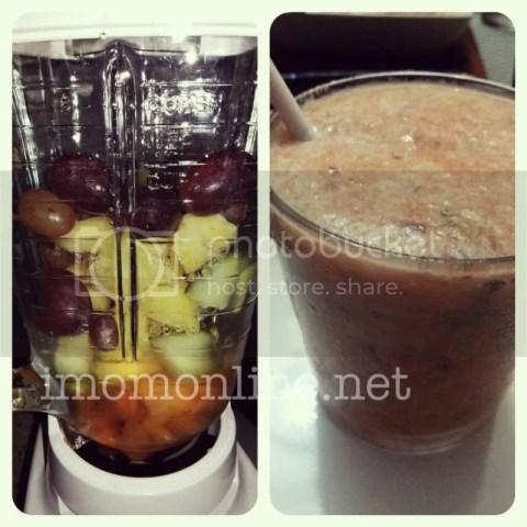 healthy smoothies grape pineapple carrots cucumber