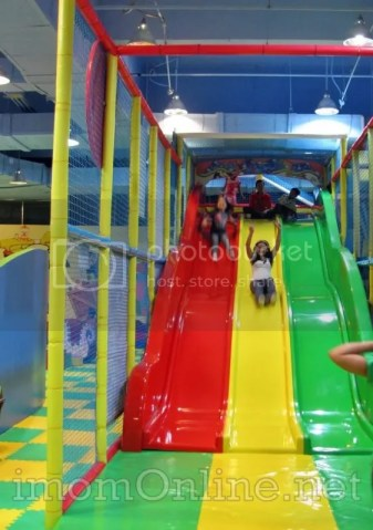 Active Play at Active Fun SM North Annex giant slide