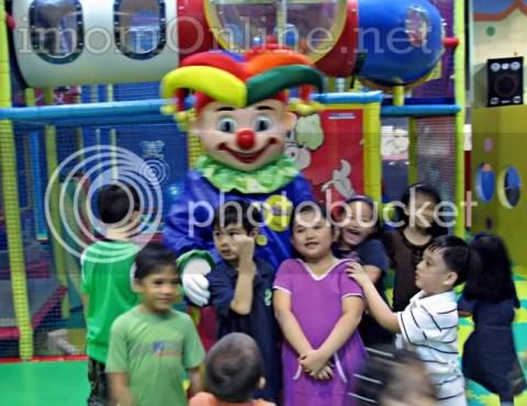 Active Play at Active Fun SM North Annex mascot