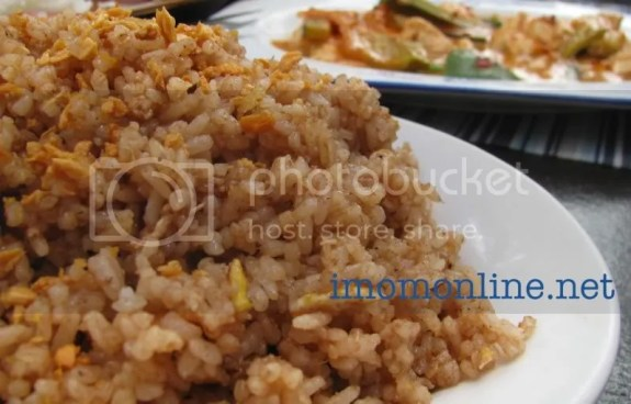 Bagoong fried rice Happy Tummy Ketchup Food Community