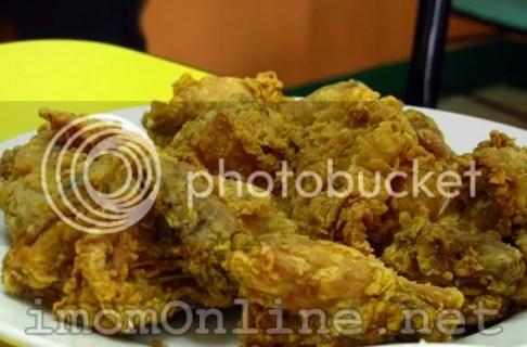 Crispy Chicken Lam Tin tea house