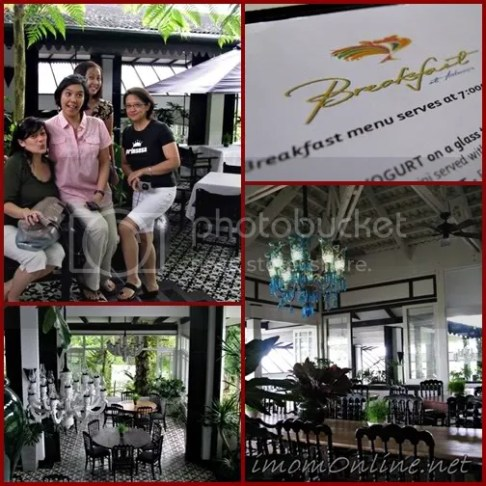 Breakfast at Antonio's tagaytay dining area