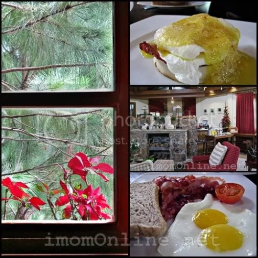 Crosswinds Resort Suites breakfast