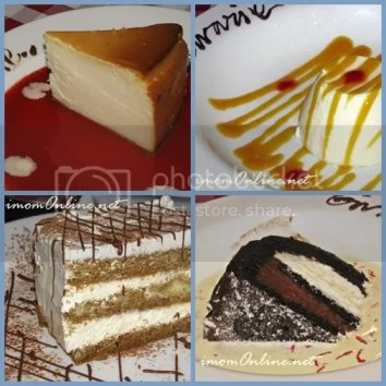 Italianni's lunch sets desserts