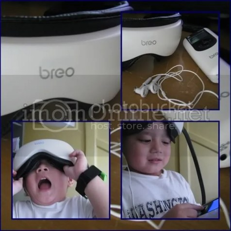 iSee 360 Breo eye massager review