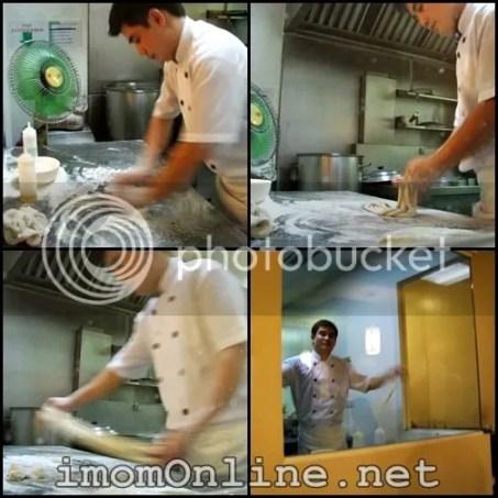 Kan Zhu Hand Pulled Noodles noodling pulling guy