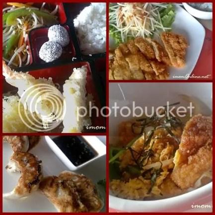 red kimono restaurant bento tori curry katsudon gyoza