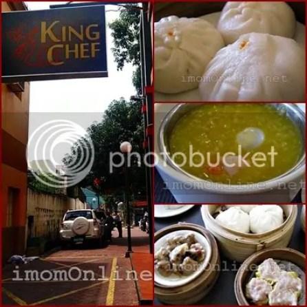 KIng Chef Restaurant Banawe Street Pumpkin soup siopao dimsum