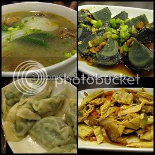 Kan Zhu Hand Pulled Noodles beef noodle soup dumplings century egg