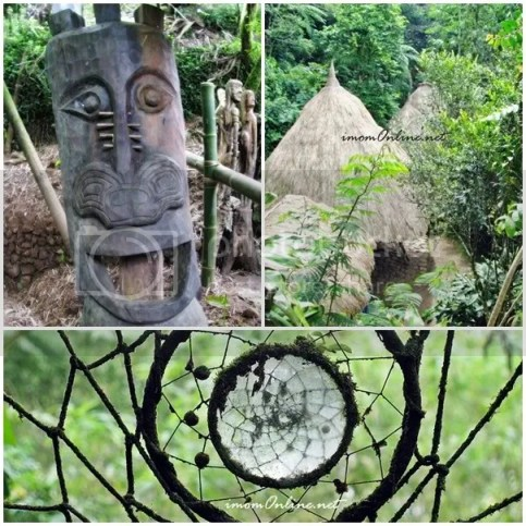 Tam-awan Village huts dreamcatcher