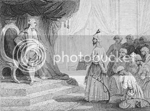Louis XVI Receives the Ambassadors of Tipu Sultan (1788)