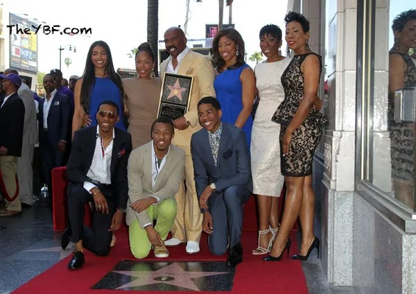 swf1 FAB Photos: Steve Harvey gets his star on the Hollywood Walk Of Fame