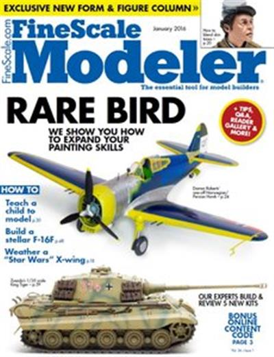 FineScale Modeler – January 2016