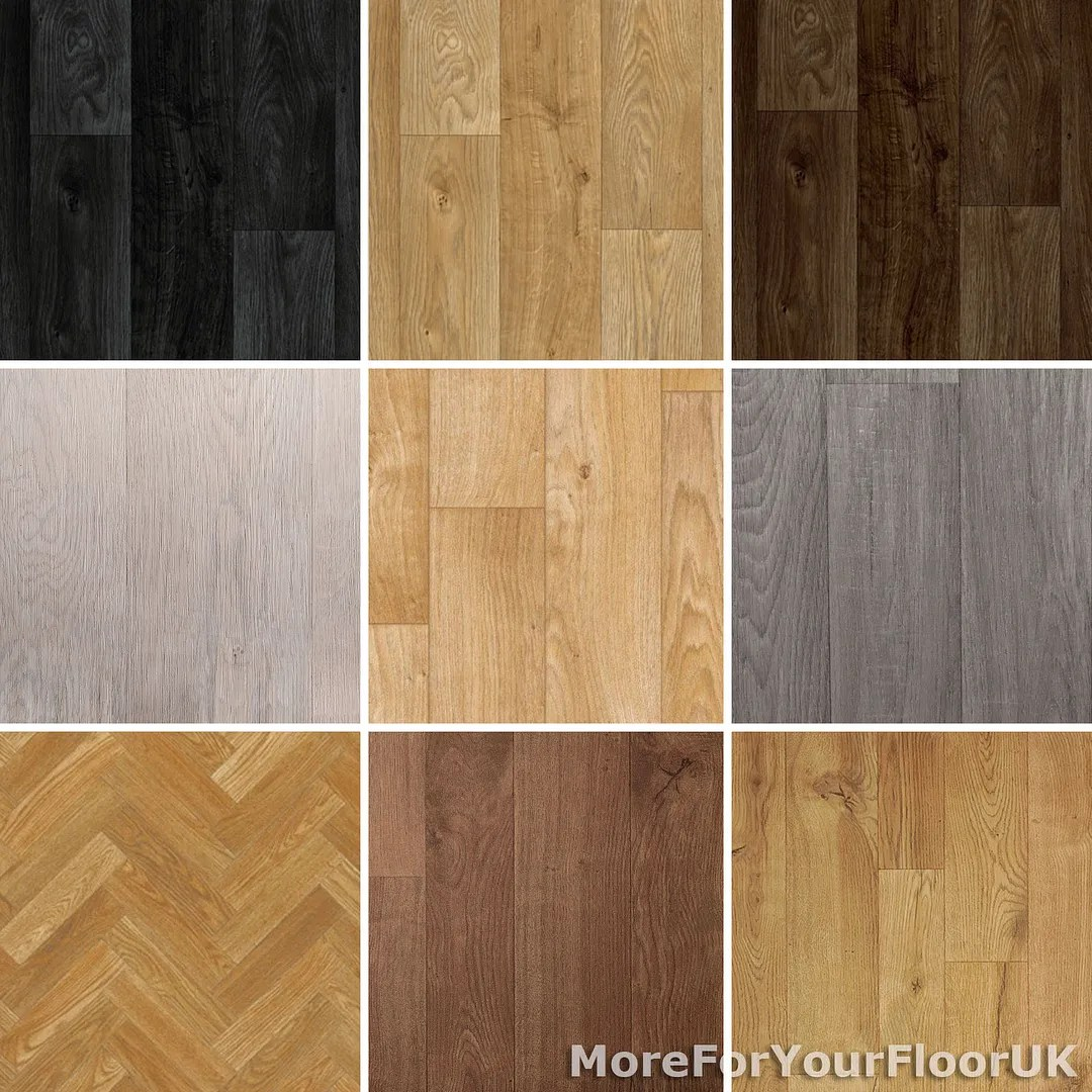 anti slip flooring vinyl kitchen flooring NEW Wood Plank Vinyl Flooring Roll Quality Lino Anti Slip Kitchen Bathroom Cheap