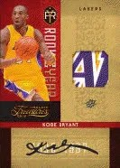 09/10 Panini Timeless Treasures Kobe Bryant RC Materials Auto