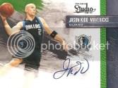 2009/10 Panini Studio Jason Kidd Masterstrokes Autograph