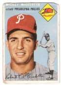 1954 Topps Baseball Mickey Micelotta