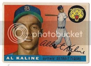 1955 Topps Al Kaline #4