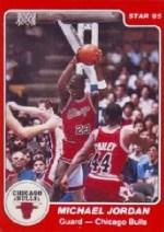 1984/85 Star Michael Jordan XRC Rookie Card