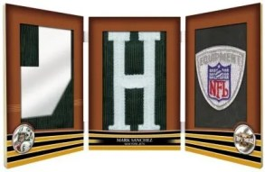 Mark Sanchez 2009 Topps Triple Threads Book Card