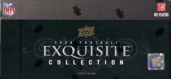 2008 Upper Deck Exquisite Collection Football  Box