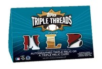 2009 Topps Triple Threads Box