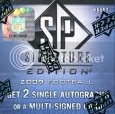 2009 Upper Deck SP Signature Football Box Pack