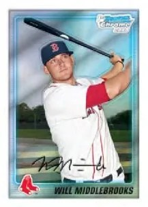 2010 Bowman Chrome Prospects Will Middlebrooks
