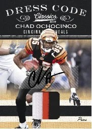 2010 Panini Classics Chad Ochocinco Dress Code Jersey