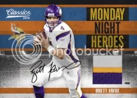 2010 Panini Classics Monday Night Heroes Brett Favre