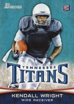 2012 Bowman Kendall Wright Base Card