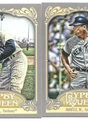 2012 Topps Gypsy Queen Mickey Mantle Sp Variation