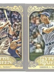 2012 Topps Gypsy Queen Joe DiMaggio Base